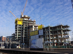 Construction at East Croydon (Kake .) Tags: london croydon eastcroydon menta morello cr0 redrow