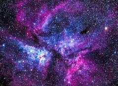Carina Nebula (djryan78) Tags: color colour canon stars star colorful space deep telescope nebula astrophotography astronomy colourful dslr universe deepspace diffuse milkyway 6d refractor skywatcher ed100 carinanebula ngc3372 canon6d etacarinaenebula skywatchered100