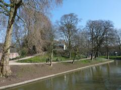 Park, Utrecht, the Netherlands. (TeenyWeenyDesign/Adrianne) Tags: utrecht domtoren cathedral oldbuildings domtower