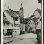 Archiv D539 Pumpbrunnen in einer Marktgemeinde, 1960er thumbnail