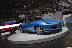 One of seven (Iceman_Mark) Tags: blue de disco louis design geneva geneve grand spyder alfa romeo salon touring v8 motorshow volante naturally pirelli tourer handbuilt 2016 superleggera pzero aspirated fabribeckers 47litre