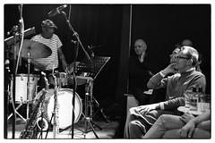Louis Moholo-Moholo's Five Blokes @ Vortex Jazz Club, London, 16th March 2016 (fabiolug) Tags: leica blackandwhite bw music vortex london monochrome zeiss drums 50mm blackwhite concert audience live gig livemusic performance jazz rangefinder listening drummer monochrom johnedwards biancoenero dalston sonnar freejazz leicam zeisssonnar 50mmf15 jasonyarde alexanderhawkins fiveblokes louismoholo vortexjazzclub sonnar50mm fourblokes shabakahutchings zeisscsonnar louismoholomoholo zeisszm50mmf15csonnar mmonochrom leicammonochrom leicamonochrom zeisscsonnartf1550mmzm vortexjazz