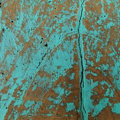 fissure (vertblu) Tags: wood abstract texture vertical paint turquoise teal textures peelingpaint remains abstrakt fissure oldpaint türkis paintedwood fissured texturesquared vertblu