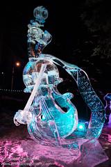 Ice Art - Violin