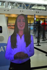The automated greeter (radargeek) Tags: travel sanantonio airport sat