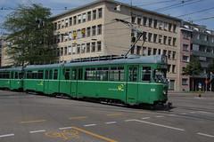 629 (KennyKanal) Tags: tram basel grn bvb basler verkehrsbetriebe dwag schienenfahrzeug drmmli