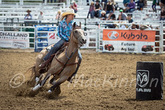 Sundre Pro Rodeo 2015 (tallhuskymike) Tags: horse outdoors action event alberta rodeo cowgirl 2015 sundre prorodeo