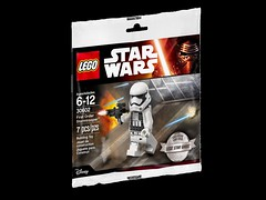 LEGO Star Wars 30602 - First Order Stormtrooper (Polybag) (THE BRICK TIME Team) Tags: brick star order lego may first vip stormtrooper wars 2016 minifigures polybag