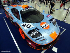 Longtail Gulf (BenGPhotos) Tags: auto show blue orange london classic sports car sport race gulf performance fast automotive f1 racing collection event exotic mclaren vehicle 1997 british rare longtail gtr v12 motoring 2016 gt1 22r automtove rofgo