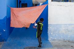 (Guido Todarello) Tags: blue orange playing kids football bambini morocco motionblur marocco nesta giochi calcio