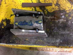 Test Piece (john.and.kath) Tags: chevrolet conversion welding engine mount swap impala ls 1965 pedestal fabrication 60l l98 jrd ls2 l76