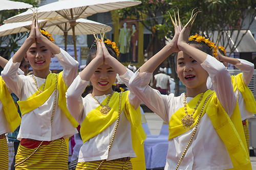 Thai dance in Chiang Mai - Thailand