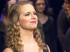 My Daughter performing at Winchester (david.nikonvscanon) Tags: university song performing glee