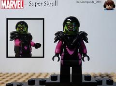 Super Skrull (RandomPanda_0611) Tags: comics book comic lego fig character books super hero figure superhero characters heroes minifig minifigs superheroes marvel figures figs minifigure minifigures