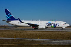 F-GZHI (Air Transat - Transavia) (Steelhead 2010) Tags: boeing transavia yyz b737 freg airtransat b737800 fgzhi
