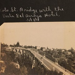 Going through my great grandpa's old photos. Here is one of the Colorado Street Bridge in 1921. #pasadena #coloradostreetbridge #1921 #oldpic #oldphoto April 21 2016 at 12:45PM (karolalmeda) Tags: street old bridge one is colorado 21 photos great going here april oldphoto through pasadena grandpas 1921 oldpic 2016 coloradostreetbridge 1245pm instagram ifttt