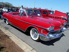 1958 Cadillac Eldorado Biarritz Convertible (splattergraphics) Tags: convertible cadillac eldorado 1958 carshow biarritz charlottehallmd southernknightsrodcustomcarclub
