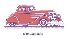 1939 Batmobile (Don Moyer) Tags: auto moleskine car ink notebook automobile drawing vehicle batmobile moyer brushpen donmoyer