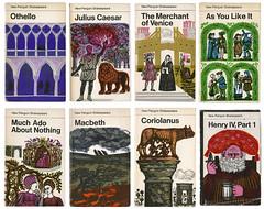 400 years of Shakespeare (maraid) Tags: illustration book shakespeare paperback cover davidgentleman newpenguin