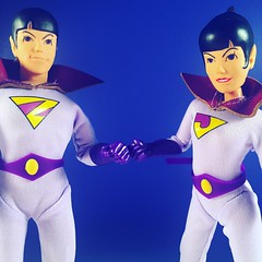 Wonder Twin powers activate! (WEBmikey) Tags: toys superfriends mego wondertwins