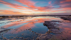 Turimetta March 2016- (Ian Moore Photo) Tags: beach sunrise reflections nikon sydney d800 turimetta