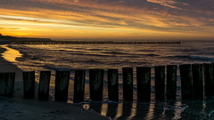 Sunset (Prismator) Tags: sunset sea strand zeiss germany deutschland evening abend march spring meer wasser sonnenuntergang sony baltic alpha allemagne ostsee mrz 1670 6000 vorpommern frhling mecklenburg zingst 2016 buhne a6000