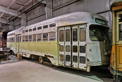 Shaker Sq  Pennsylvania Trolley Museum (SteveMather) Tags: 1948 square washington nikon clarity tram clean pa 94 shaker dxo passenger heights topaz ptm rta pennsylvaniatrolleymuseum d7100 pullmanstandard opticspro