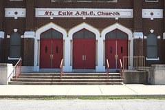 St. Luke A.M.E Church (pasa47) Tags: illinois spring stlouis april eastside esl eaststlouis 2016 cityofchampions eastboogie metroeast illside stlmetro