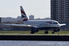 British Airways A318 ~ G-EUNA ( Freddie) Tags: london londoncityairport newham e16 lcy royaldocks eglc runway27