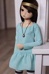 Nanok. (icantdance) Tags: dami dress pastel twiggy dollclothes elfdoll nanok icantdance triblend
