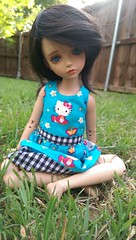 Iplehouse Lonnie (bluepita) Tags: hello b black face up ball asian real kid doll natural skin kitty special tiny bjd 16 rs lonnie abjd srs lapis ih ip jointed leeke yosd iplehouse safrin safrindoll lr093