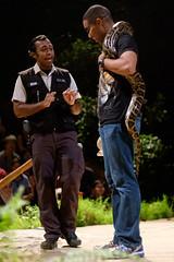Don't hug the snake too hard (Stinkee Beek) Tags: nightsafari