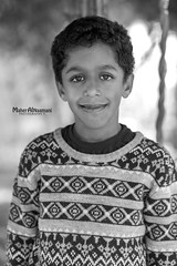 =] (mahernaamani) Tags: portrait blackandwhite bw eye love beautiful beauty smile face kids canon wow children photography photo blackwhite kid amazing eyes photographer child faces bokeh outdoor farm innocent 85mm oman 6d  omani portraitphotography         canon85mm    canon6d   outdoorgraphy