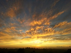 Fire in the sky (missgeok) Tags: nature beautiful sunrise wow painting landscape golden view cloudy horizon sydney dramatic australia explore fabulous fireinthesky goldensunrise