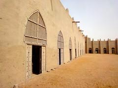 courtyard of the great mosque (jzielcke) Tags: voyage africa travel west unterwegs adobe mali mudbrick reise djenne sahel  2013