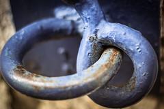 inseparable (Kevin STRAGLIATI) Tags: old two metal rust lock minimalist 500d inseparable macromondays 50mmstm