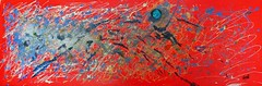 Cosmos (Leelooart) Tags: art arts association color artiste terrebonne artlove artlover artsvisuels oeuvresdarts artsworks aaavt maryeldupuis