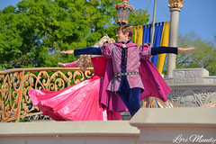 Dream Along With Mickey (disneylori) Tags: princess prince disney disneyworld aurora characters wdw waltdisneyworld sleepingbeauty magickingdom disneyprincess disneycharacters princephillip dreamalongwithmickey facecharacters