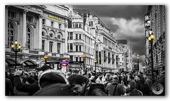 'Believe It or Not' it's crowded London! (KS Photography!) Tags: road street old city uk blue red england people urban blackandwhite bw white black color building london english history beautiful yellow thames museum architecture night contrast dark outdoors lights evening blackwhite europe cityscape exterior unitedkingdom britain dusk united famous crowd citylife royal ripleys kingdom landmark icon tourist historic piccadillycircus single historical british lamps iconic tone attraction selective contrasty kingdoms crowdy believeitornot cityofwestminster londonpavillion