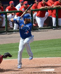 Jose Bautista (Buck Davidson) Tags: blue toronto training major spring baseball jose buck jays davidson league bautista 2016 nikond7100