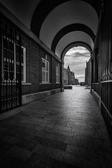 Victoria Gallery and Museum (sunwho707) Tags: city uk light sunset white black liverpool cityscape hdr 500px ifttt