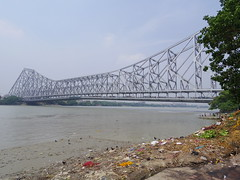 Howrah Bridge(Rabindra Setu)[2016] (gang_m) Tags: india kolkata calcutta インド movielocation piku コルカタ カルカッタ gunday 映画ロケ地 india2016 ピクー