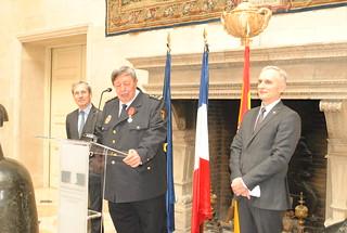 Légion d'Honneur au Directeur de la Police aux frontières espagnol