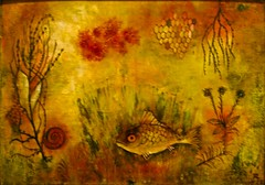 Red Fish in Moss (1927) - Hans Reichel (1892 - 1958) (pedrosimoes7) Tags: portugal painting lisbon belem pintura centroculturaldebelem contemporaryartsociety berardocollection germanpainter hansreichel peintreallemand pintoralemo ecoledesbeauxarts