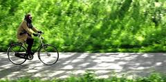 i want to ride my bike (Bim Bom) Tags: woman bike utrecht streetlife bycicle