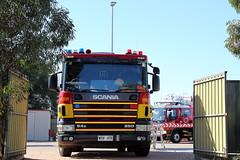 509 and 502 (adelaidefire) Tags: port fire south australian service years sa metropolitan brigade mfs 125 pirie samfs safb