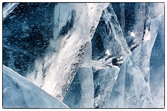 Stephen M. Fochuk Prosperous Lake Ice (Stephen M. Fochuk) Tags: ice nwt northwestterritories tiltshift prosperouslake iceroad nikond4