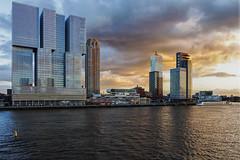 Wilhelminapier (R. Engelsman) Tags: city building skyline architecture skyscraper rotterdam derotterdam wilhelminapier