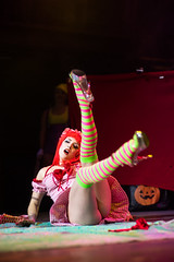 Hubba Hubba Revue: Cartoon Funhouse (y3rdua) Tags: performance burlesque strawberryshortcake dnalounge hubbahubbarevue missprys