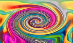 Spiralfrmig.. (cornelia_auguste) Tags: kunst digitale digiart bunt farbenrausch bunte farbenspiel filterexperiment regenbogenfarben filtertechnik spiralfrmig corneliaauguste